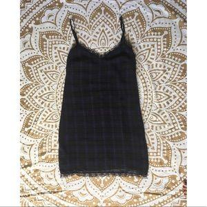 🆕🛍 Zara Plaid Slip Dress